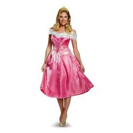 オーロラ姫 衣装、コスチューム 大人女性用 Deluxe 眠れる森の美女 ディズニー ハロウィン
