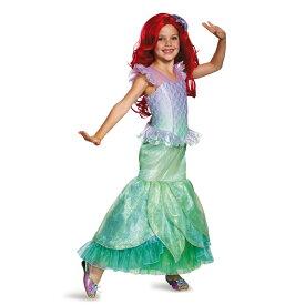 アリエル 衣装、コスチューム 子供女性用 Ultra Prestige リトルマーメイド ディズニー ハロウィン コスプレ