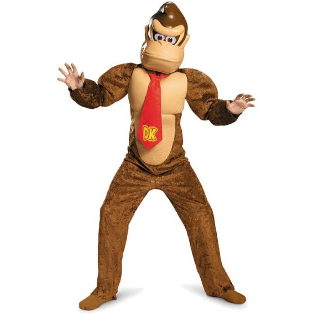 ドンキーコング 衣装、コスチューム 子供男性用 Deluxe スーパーマリオ ハロウィン