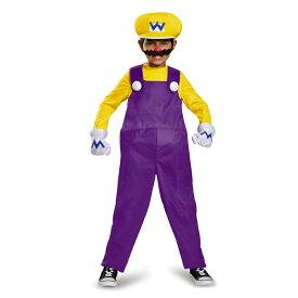 ワリオ 衣装、コスチューム 子供男性用 Deluxe スーパーマリオ ハロウィン コスプレ