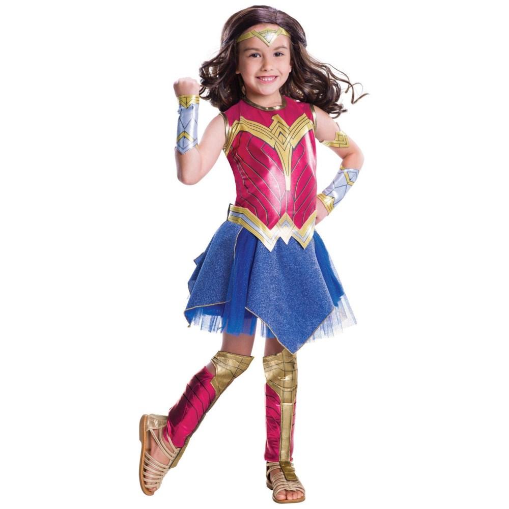 ワンダーウーマン 衣装、コスチューム 子供女性用 バットマンVSスーパーマン ジャスティスの誕生