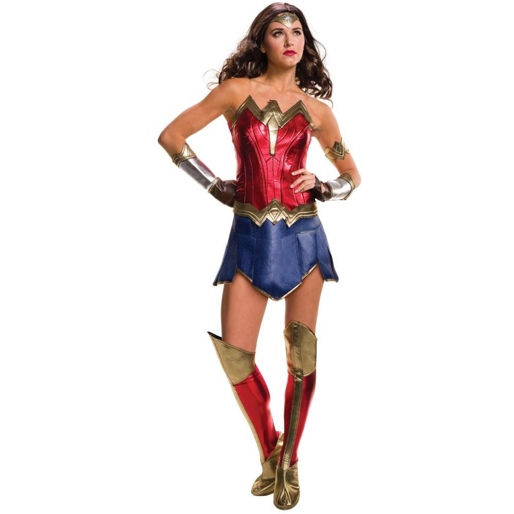 ワンダーウーマン 衣装、コスチューム 大人女性用 デラックス バットマンVSスーパーマン