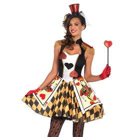 女王 コスチューム 「不思議の国のアリス」 大人女性用 Queen's Card Guard