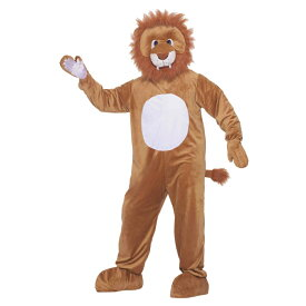 ライオン 着ぐるみ 衣装、コスチューム LEO THE LION MASCOT 動物 コスプレ