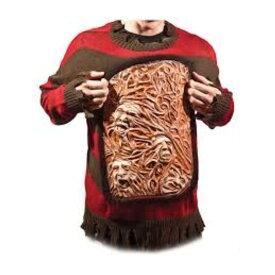 フレディ・クルーガー 動くセーター 衣装、コスチューム 大人男性用 エルム街の悪夢