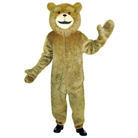 テッド風 着ぐるみ 衣装、コスチューム 大人男性用 映画 キャラクター くま クマ コスプレ