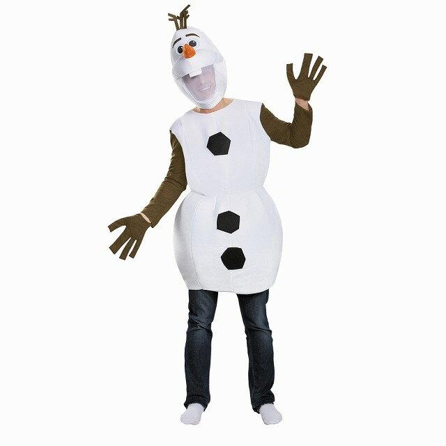 オラフ 衣装、コスチューム 大人男性用 ディズニー 映画 アナと雪の女王 FROZEN OLAF DELUXE