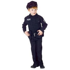 ポリス 衣装、コスチューム 子供男性用 ハロウィン POLICE MAN SET CHILD