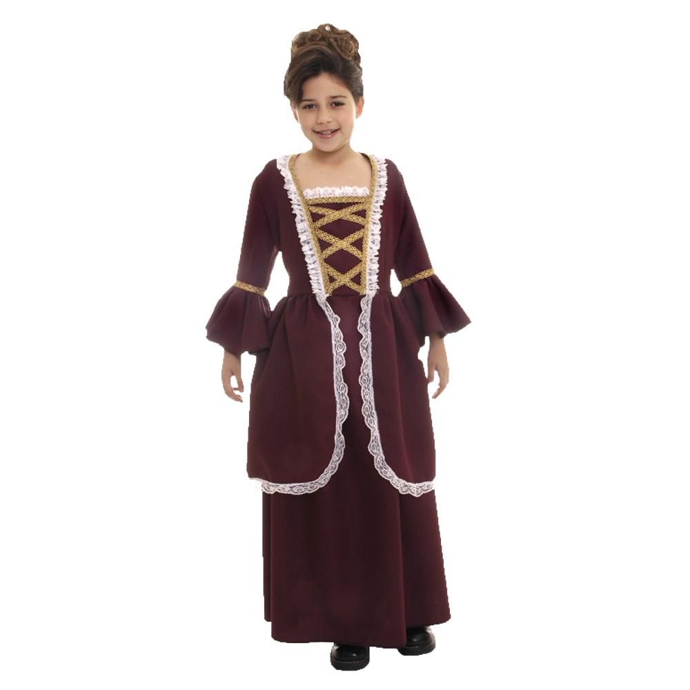 コロニアル風女子 衣装、コスチューム 子供女性用 ハロウィン COLONIAL GIRL
