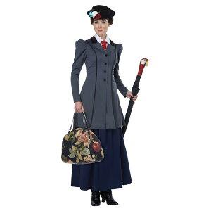 メリーポピンズ風 衣装、コスチューム 大人女性用 コスプレ