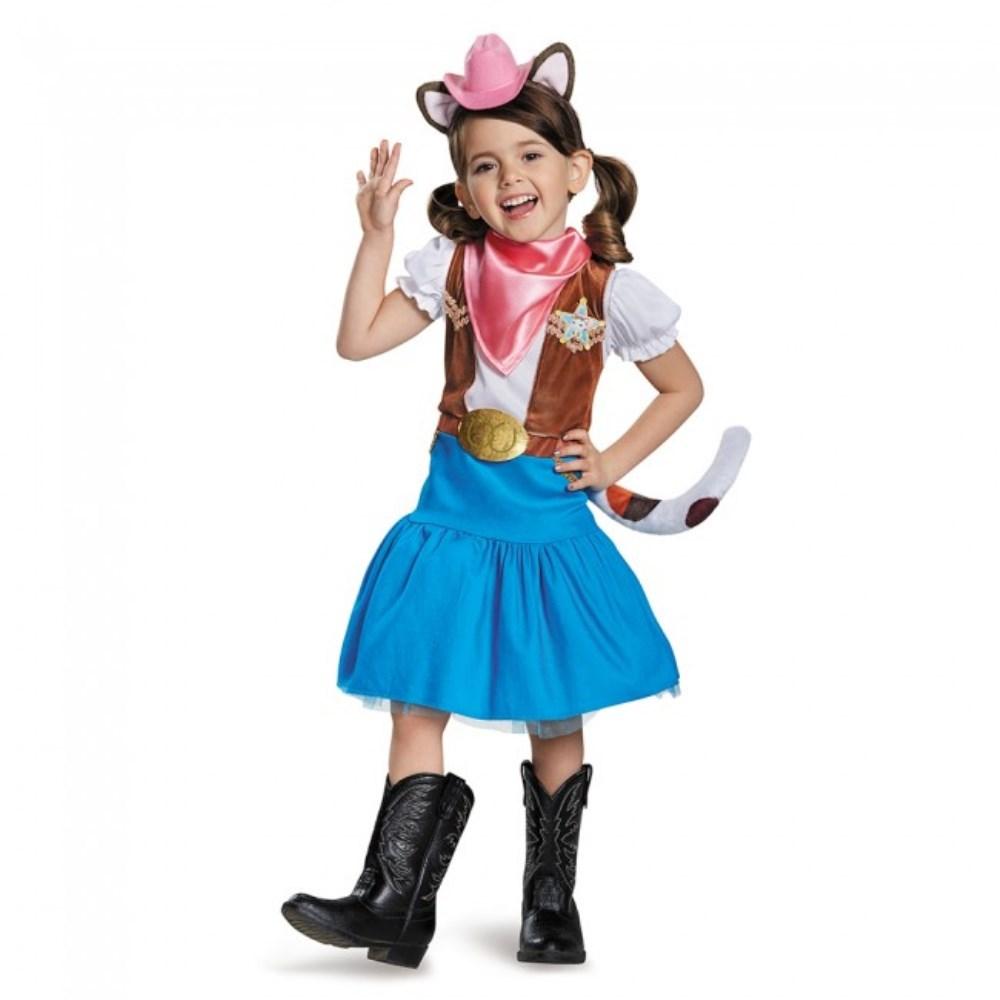 キャリー せいぶのねこキャリー デラックス 衣装、コスチューム 子供女性用 Sheriff Callie Deluxe