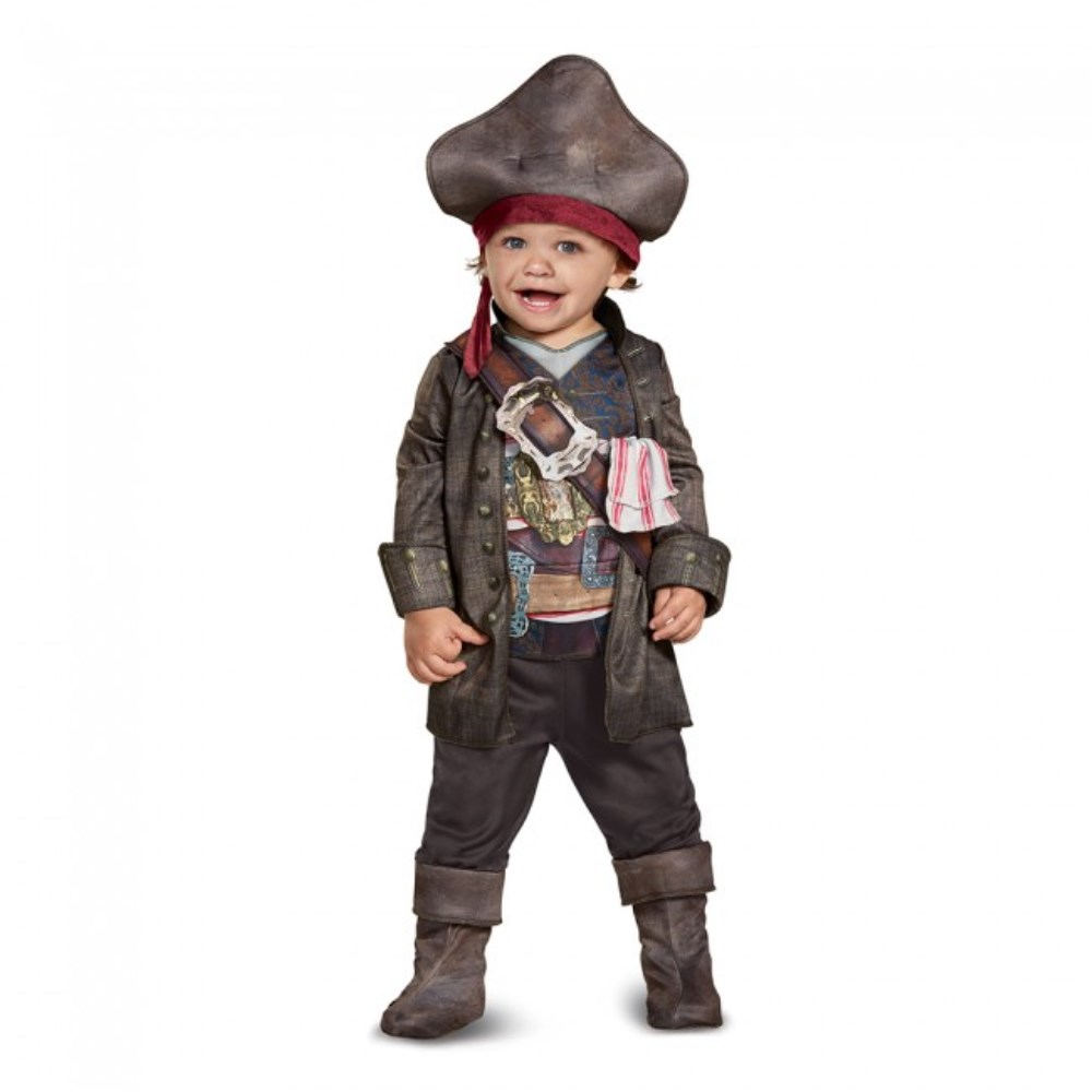 キャプテン・ジャック・スパロウ 衣装、コスチューム 子供男性用 パイレーツ・オブ・カリビアン/最後の海賊 Captain Jack Classic