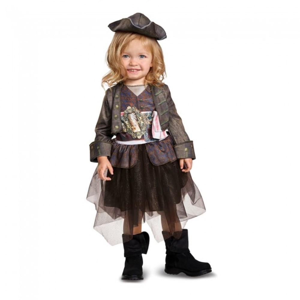 ジャック・スパロウ チュチュスカート 衣装、コスチューム 子供女性用 パイレーツ・オブ・カリビアン/最後の海賊 Captain Jack Inspired Tutu Classic