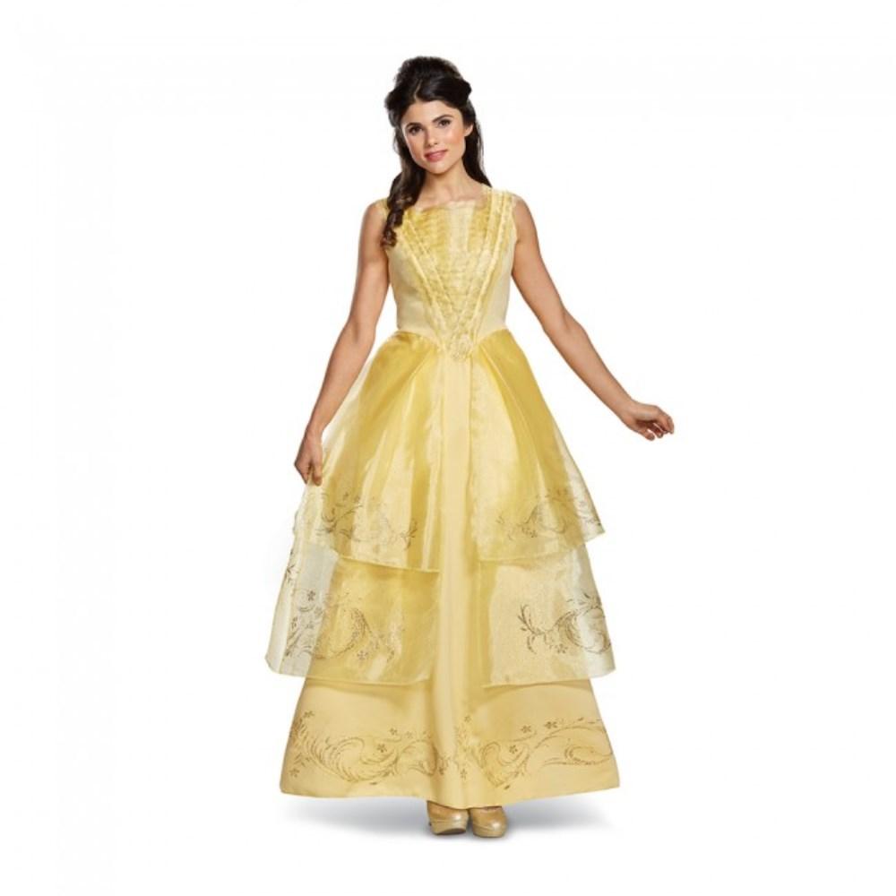 ベル 美女と野獣 ロングドレス Deluxe 衣装、コスチューム 大人女性用 Belle Ball Gown Deluxe Adult