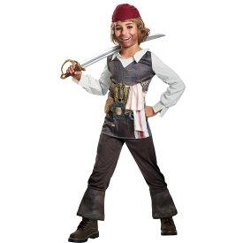 ジャックスパロウ パイレーツ・オブ・カリビアン 衣装、コスチューム 子供男性用 POTC 5 CAPT JACK CLASSIC コスプレ