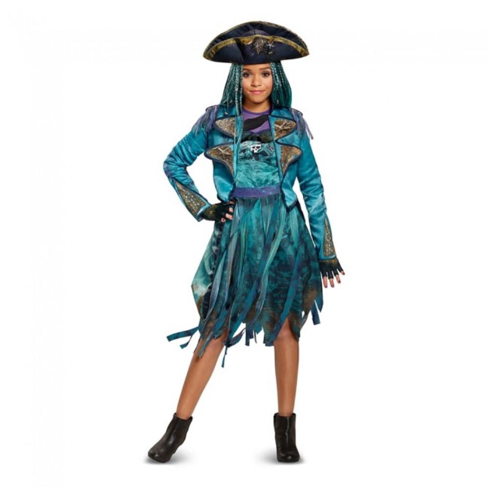 ディセンダント ウーマ 衣装、コスチューム 子供女性用 デラックス ディズニー