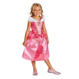 オーロラ姫 眠れる森の美女 衣装、コスチューム 子供女性用 コスプレ AURORA SPARKLE CHILD CLASSIC