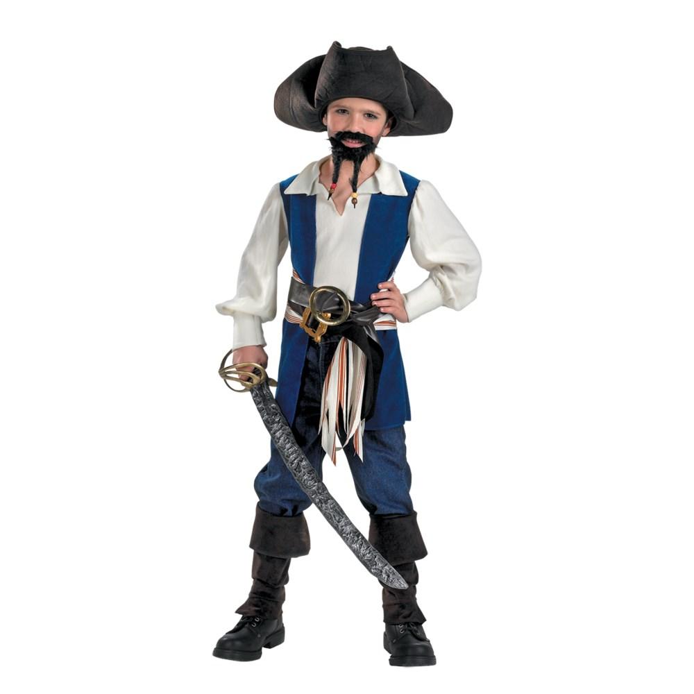 ジャックスパロウ パイレーツ・オブ・カリビアン 衣装、コスチューム 子供男性用 CAPT JACK STD