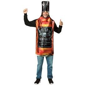 ウィスキーボトル 衣装、コスチューム 大人男性用 WHISKY BOTTLE GET REAL コスプレ