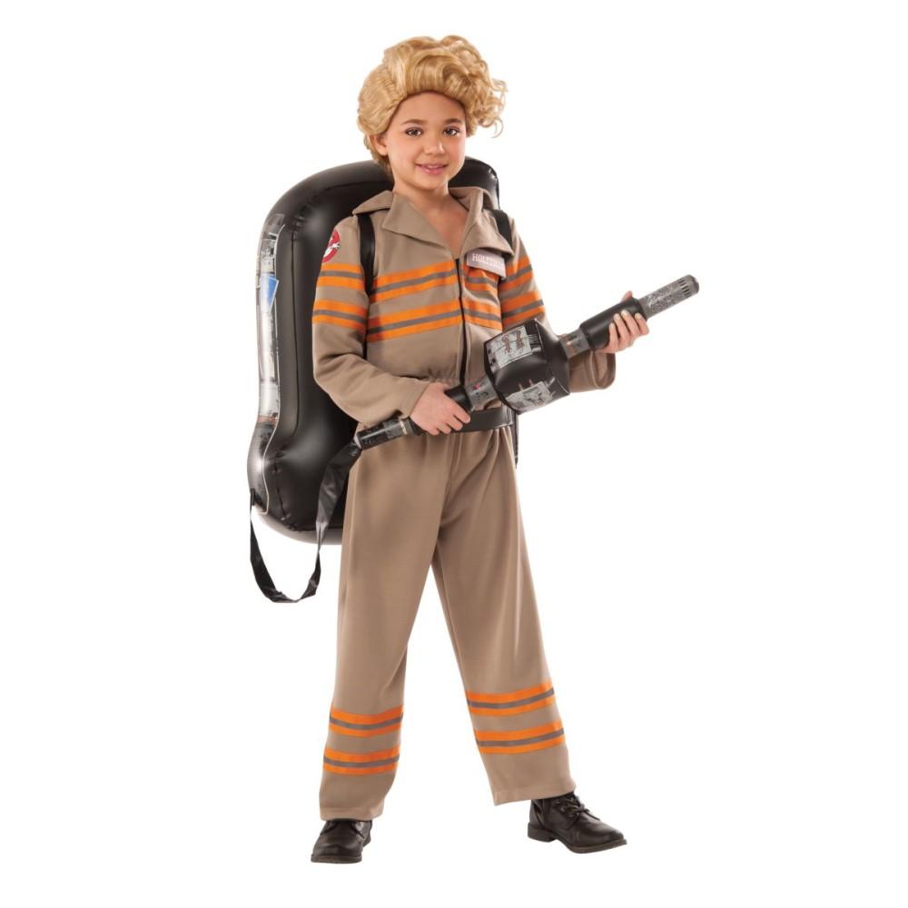 ゴーストバスターズ 衣装、コスチューム 子供女性用 デラックス DLX. GHOSTBUSTER