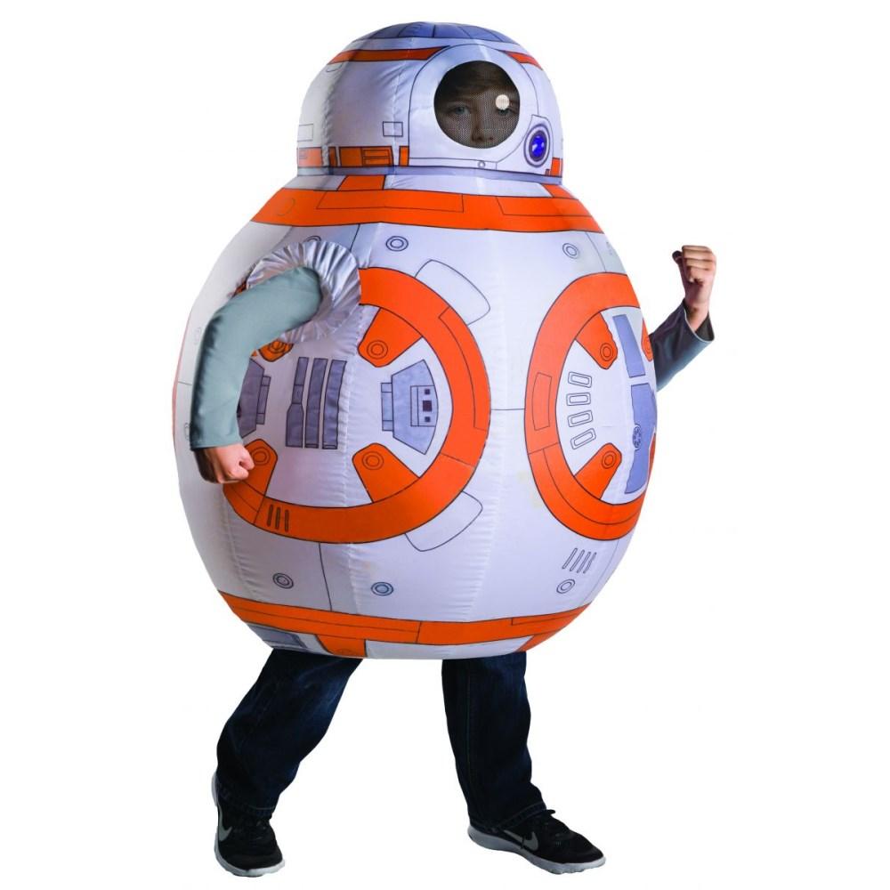 BB-8 衣装、コスチューム 子供男性用 空気で膨らむ 着ぐるみ スターウォーズ