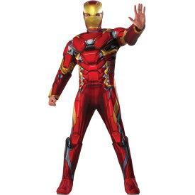 アイアンマン 衣装、コスチューム 大人男性用 シビル・ウォー/キャプテン・アメリカ コスプレ
