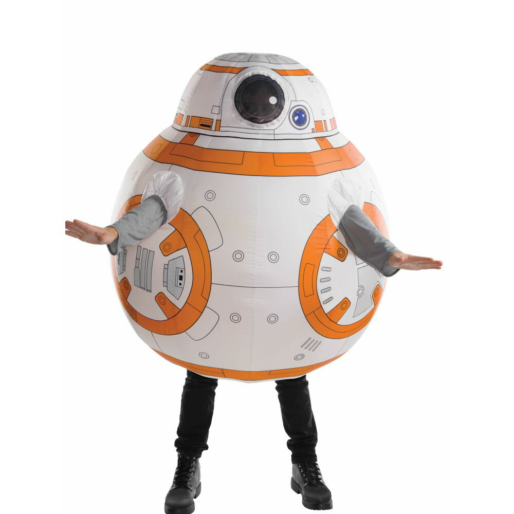 BB-8 スターウォーズ 衣装、コスチューム 大人用 空気で膨らむ 着ぐるみ