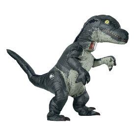 ヴェロキラプトル 恐竜 衣装、コスチューム 大人用 着ぐるみ ジュラシック・ワールド コスプレ
