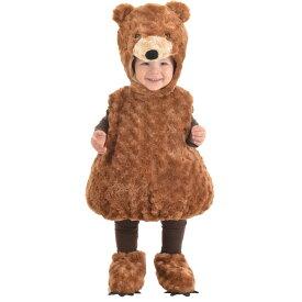 テディベア 衣装、コスチューム 着ぐるみ 子供男性用 TEDDY BEAR TODDLER コスプレ