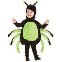 58位:蜘蛛 衣装、コスチューム 着ぐるみ 子供男性用 SPIDER TODDLER