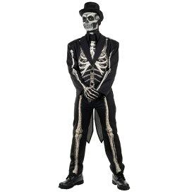 骸骨 衣装、コスチューム 大人男性用 BONE CHILLIN MENS