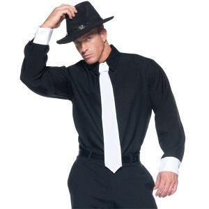 ギャングスター 衣装、コスチューム 大人男性用 GANGSTER SHIRT ADULT コスプレ