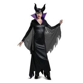 マレフィセント 衣装、コスチューム 大人女性用 眠れる森の美女 ディズニー ヴィランズ Deluxe コスプレ