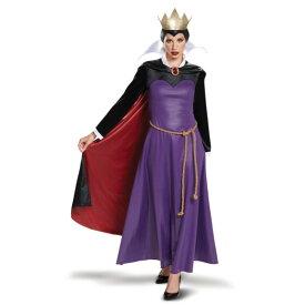 白雪姫 王妃 衣装、コスチューム イーヴィル・クイーン 大人女性用 Deluxe