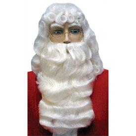 サンタクロース ウィッグ ヒゲ 大人用 クリスマス SANTA SET 001 DLX WHITE コスプレ
