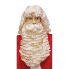 サンタクロース ウィッグ、ヒゲ クリスマス 仮装グッズ SANTA SET 004 SUPREME WHITE コスプレ