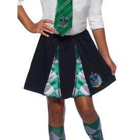 スリザリン スカート 子供女性用 ハリーポッター コスプレ