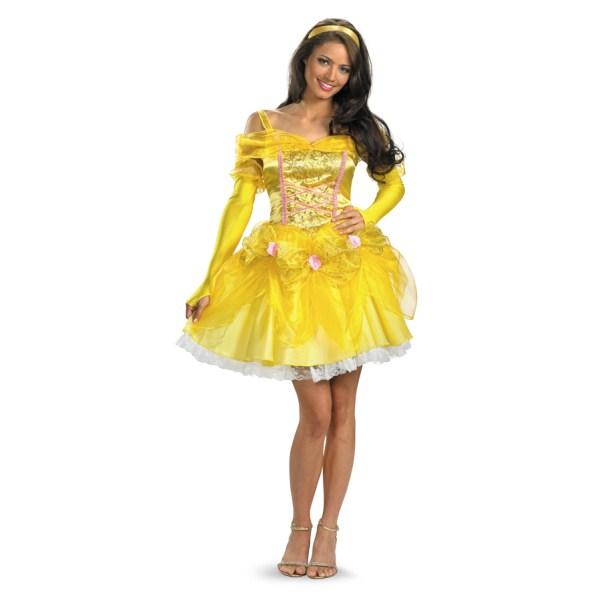 ベル ドレス 衣装、コスチューム 大人女性用 美女と野獣 ディズニー