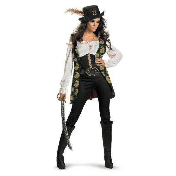 アンジェリカ 衣装、コスチューム DLX 大人女性用 コスプレ パイレーツ・オブ・カリビアン