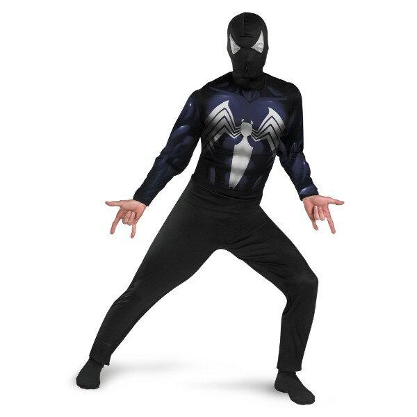 スパイダーマン ブラック Classic 衣装、コスチューム コスプレ 大人男性用