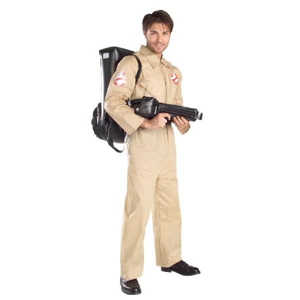 ゴーストバスターズ 衣装、コスチューム コスプレ 大人男性用 クリーム色ハロウィン
