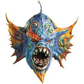 半魚人 モンスター ハーフマスク DLX 大人用 Clive Barker