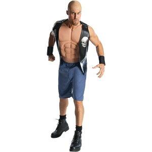 ストーン・コールド・スティーブ・オースチン 衣装、コスチューム 大人男性用 プロレス WWE コスプレ