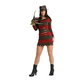 フレディ 衣装、コスチューム 大人女性用 エルム街の悪夢 セクシー