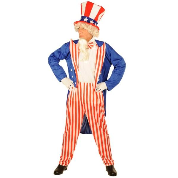 アンクル・サム 衣装、コスチューム 大人男性用 アメリカ 星条旗