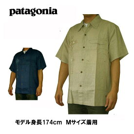 パタゴニア Patagonia 半袖シャツ シャツ カジュアルシャツ S/S Winfield 20645A 涼しいヘンプ 麻素材使用 全国送料無料 メンズ