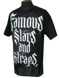 フェイマス スターズ アンド ストラップス Famous Stars & Straps メンズ 半袖Tシャツ Conguer Tシャツ クロ 全国送料無料