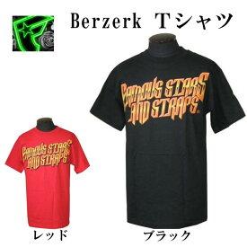 フェイマス スターズ アンド ストラップス Famous Stars & Straps メンズ 半袖Tシャツ Berzerk Tシャツ 全国送料無料