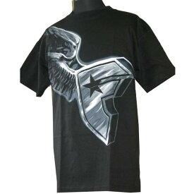 フェイマス スターズ アンド ストラップス Famous Stars & Straps メンズ 半袖Tシャツ Flying Boh Tシャツ ブラック 全国送料無料