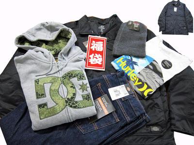 メンズ新春人気ブランド福袋5点盛り 21600円(税込)コース♪